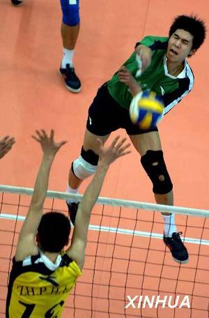 排球规则要点   沙滩排球比赛是一项每队由2人组成的两队在高清图片