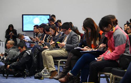时值2014年APEC领导人会议周期间,中国迎来第15个记者节,近图片